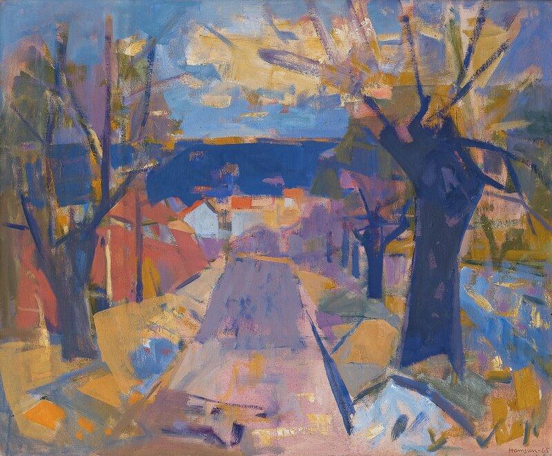 Alléen, høst 1965