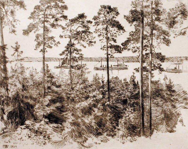 Fjordlandskap 1909