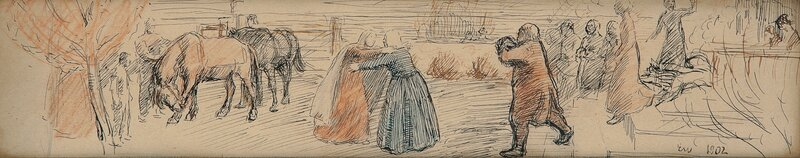 Liti Kjersti reunited with her mother 1902