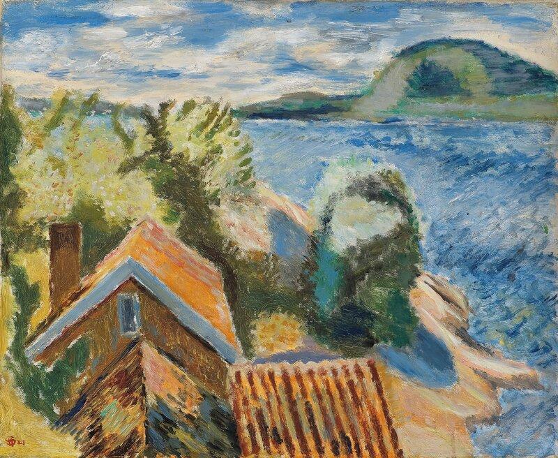Fra Holmsbu 1921