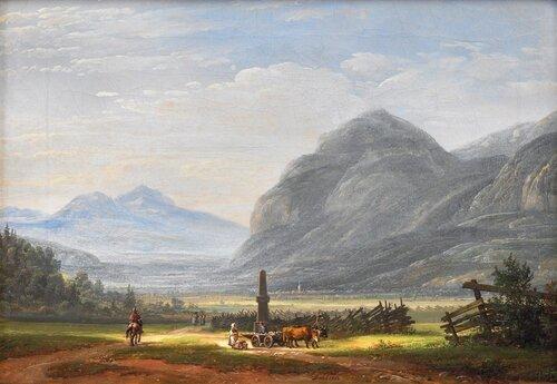 Landskap ved Innsbruck 1823