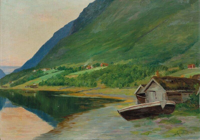 Fra Ørstenvik 1894