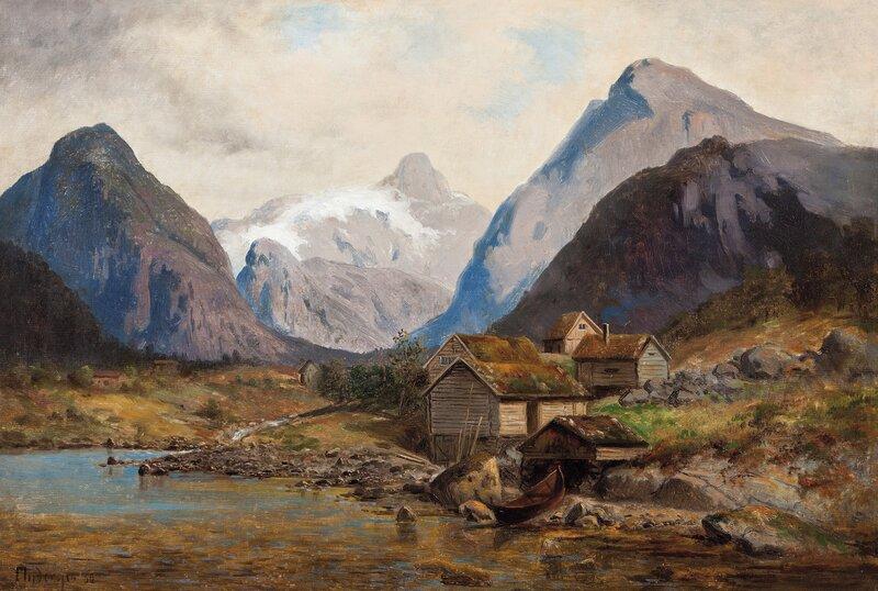 Fjordparti 1860