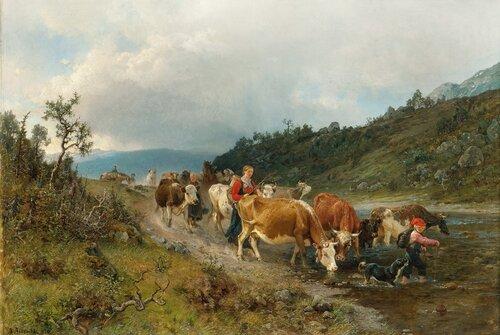 Ved vanningsstedet 1870