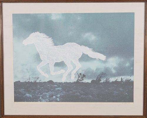 Galopperende hest 1974