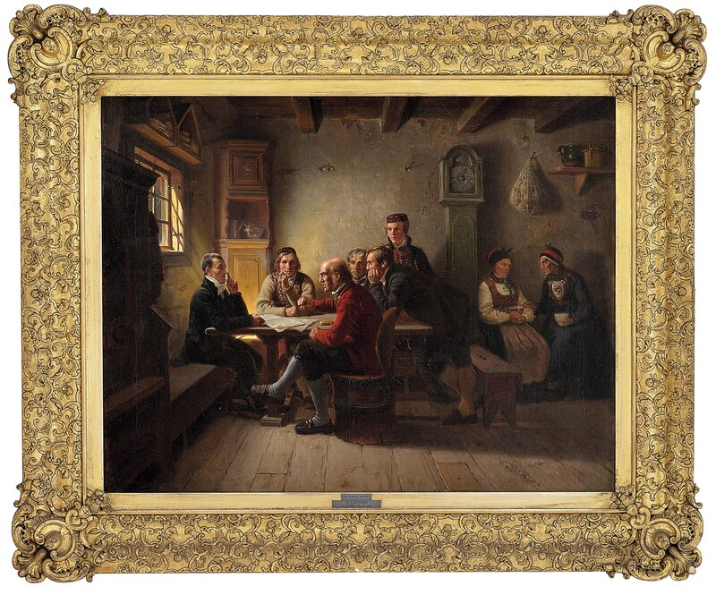 Politiserende bønder 1849