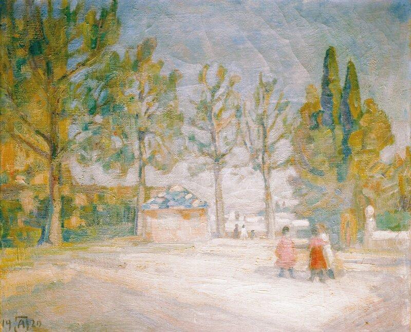 Morgen i Granada 1920