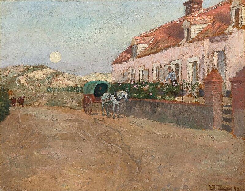 Aften i Camiers 1893