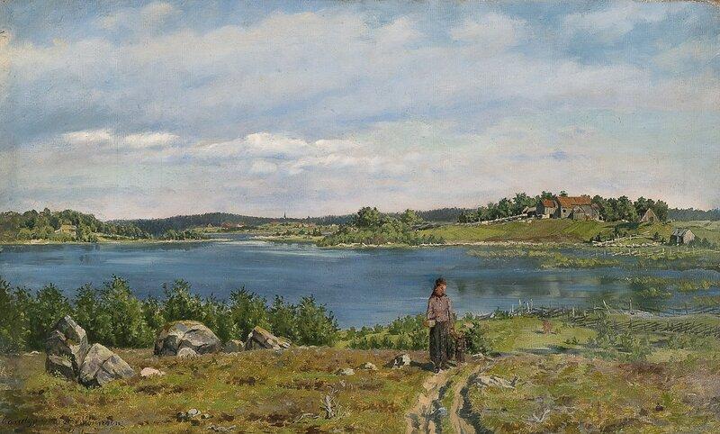 Fra Vandsjø ved Moss 1881