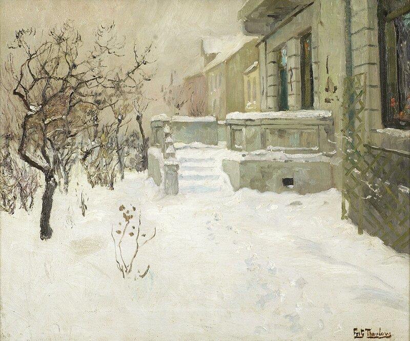 Hagetrapp i sne