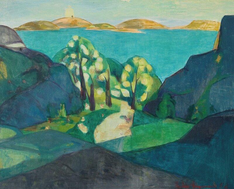 Sol over Nødingen 1952
