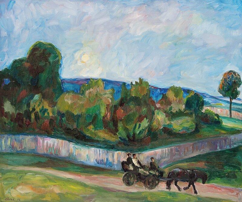 Sommerkveld 1917