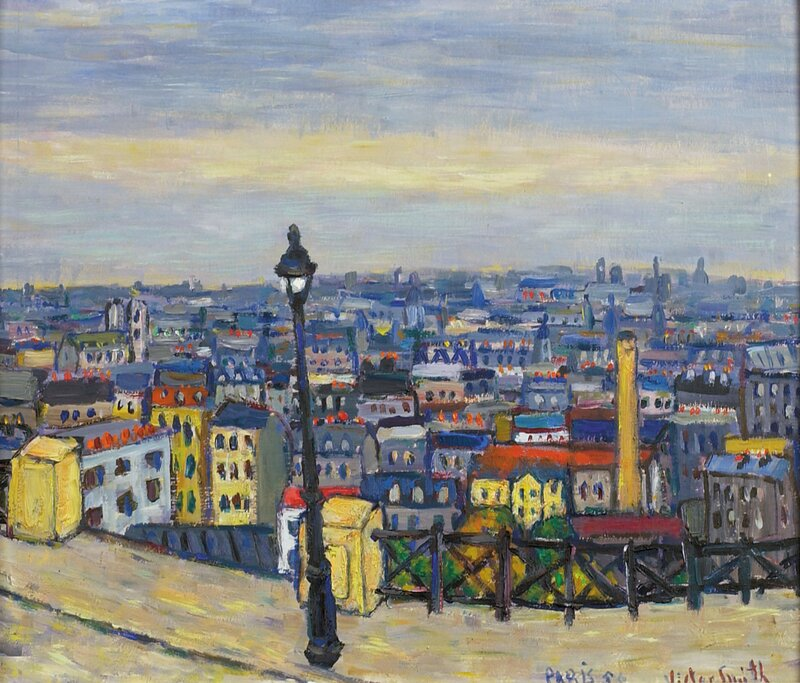 Over Paris hustak 1955