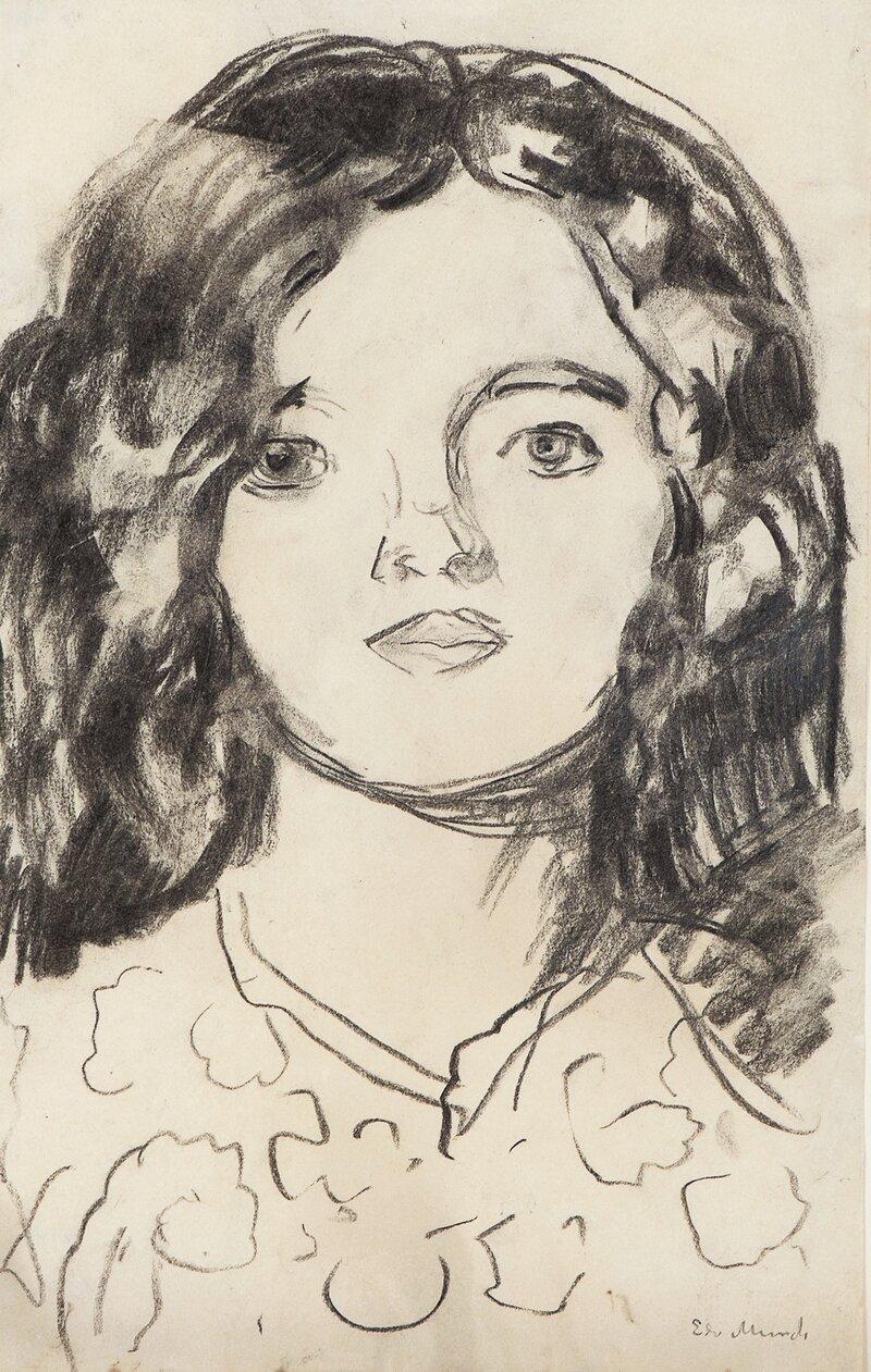 Portrett av modell