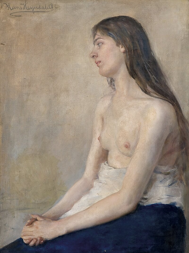 Kvinneakt 1886