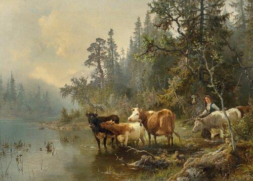 Ved vanningsstedet 1872
