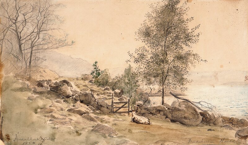 Torskeskjær, Budokken ved Skogsfjord 1858