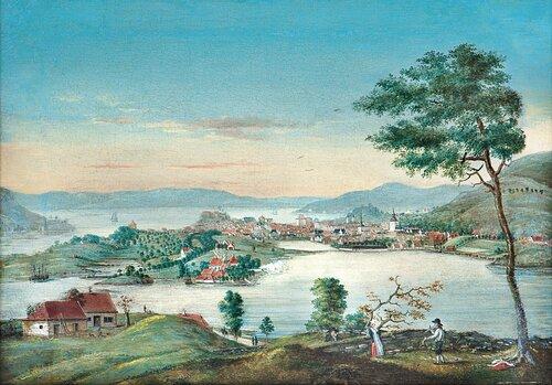 Bergen sett fra Kronstad