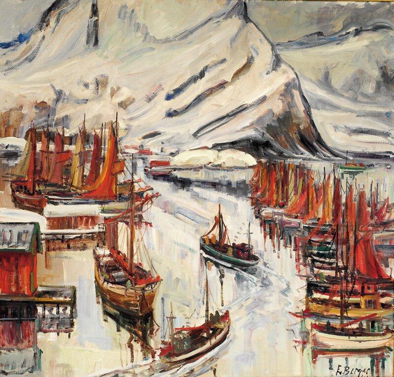 Fiskevær i Lofoten 1941