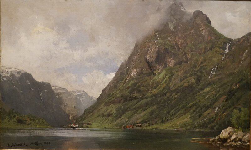 Fjordlandskap 1885