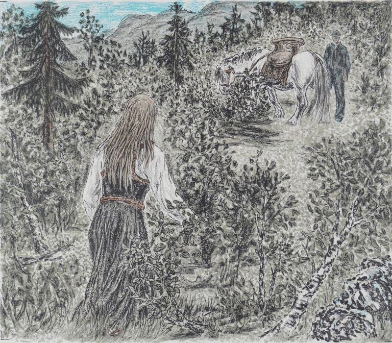 """Messa var til ende """"Guro Heddelid"""" 1976-77"""