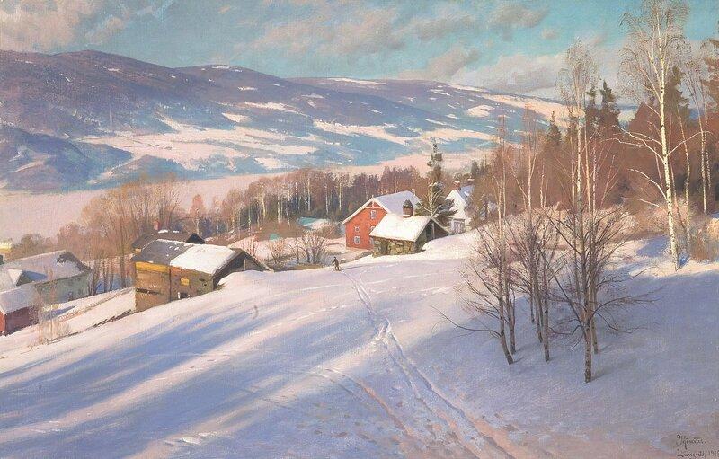 Langseth ved Lillehammer 1919
