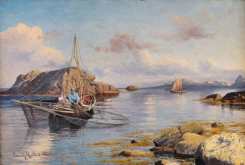 To fiskere 1895