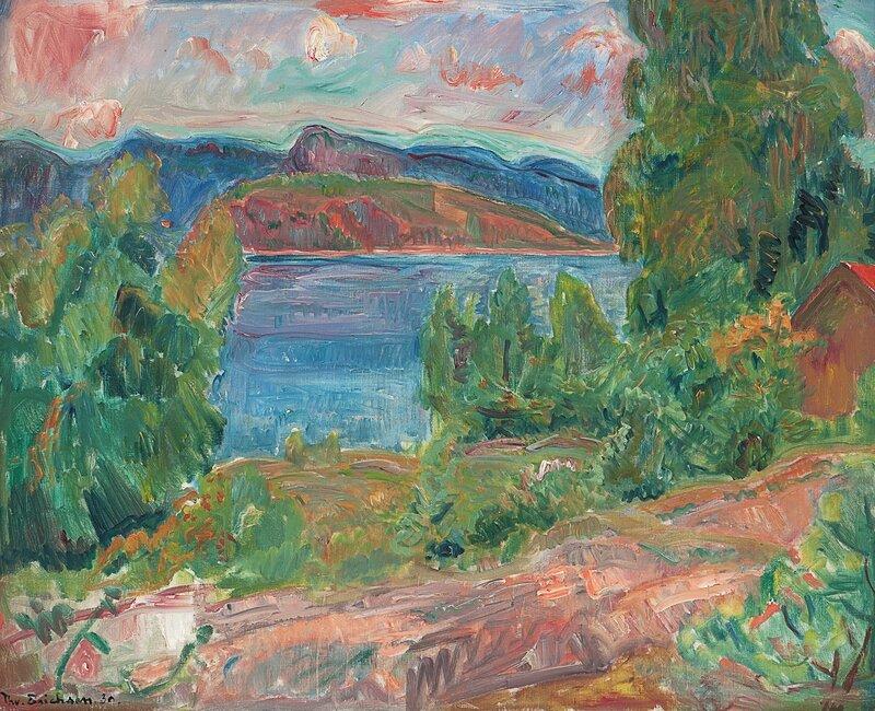 Fra Holmsbu 1930