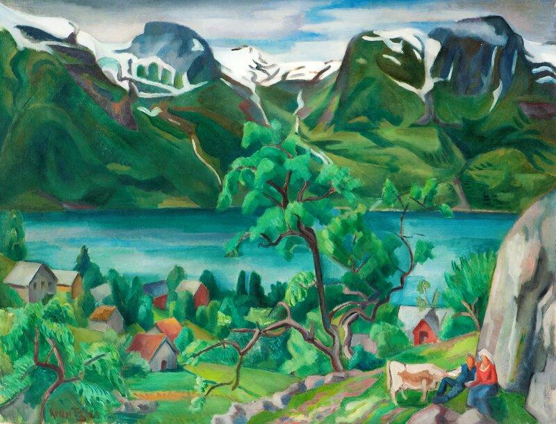Towards Folgefonna, Hardanger 1929