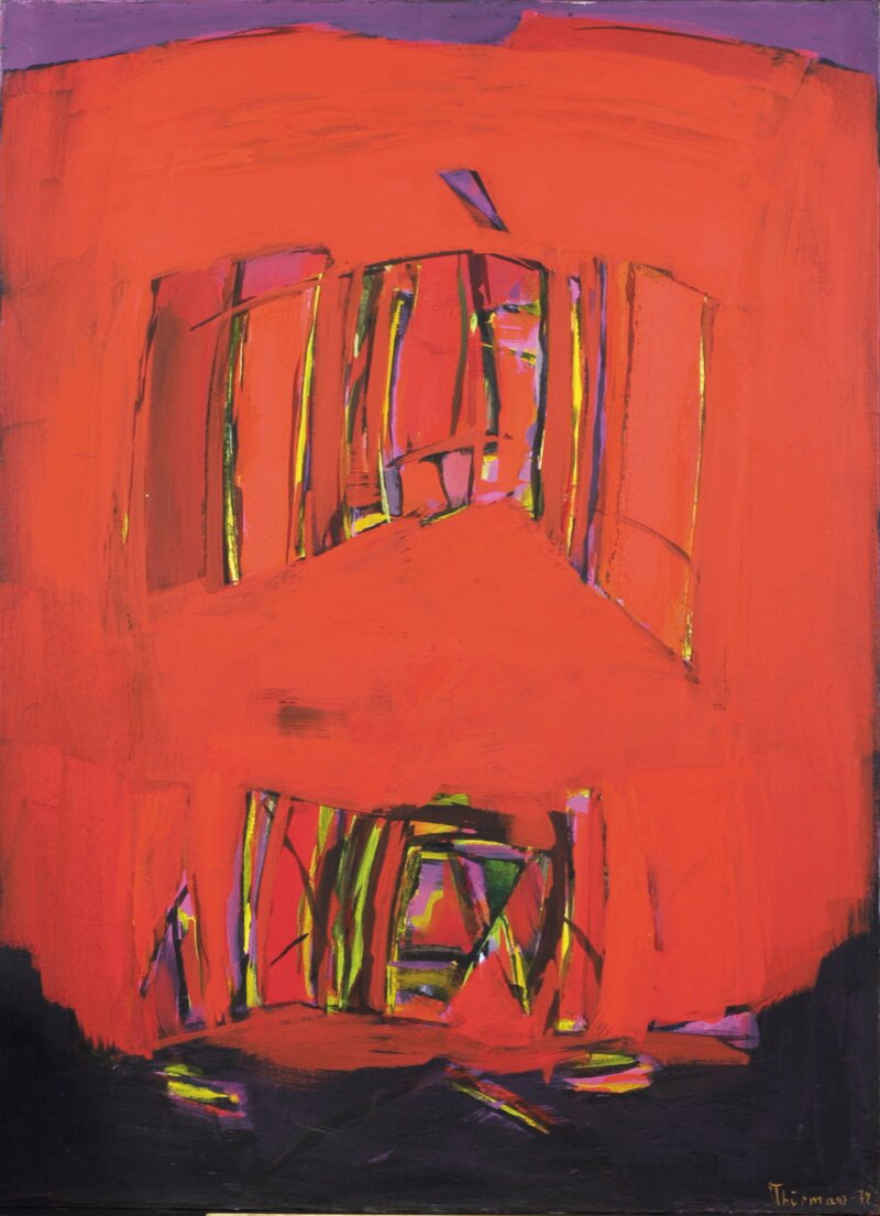 Rød komposisjon 1972