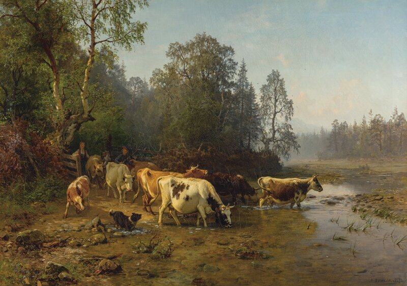 Utenfor grinden 1873
