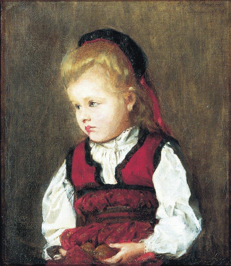 Liten pike med pærer 1875