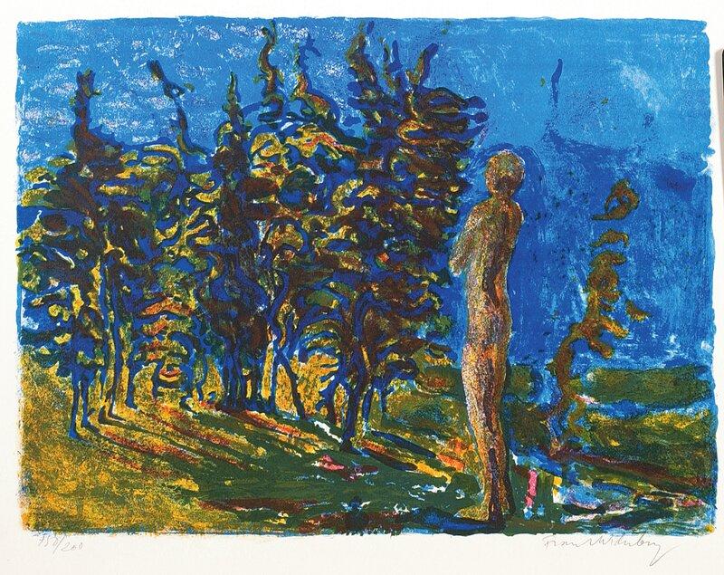Mann og trær