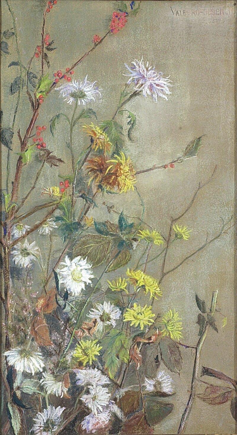 Blomsterstudie 1887