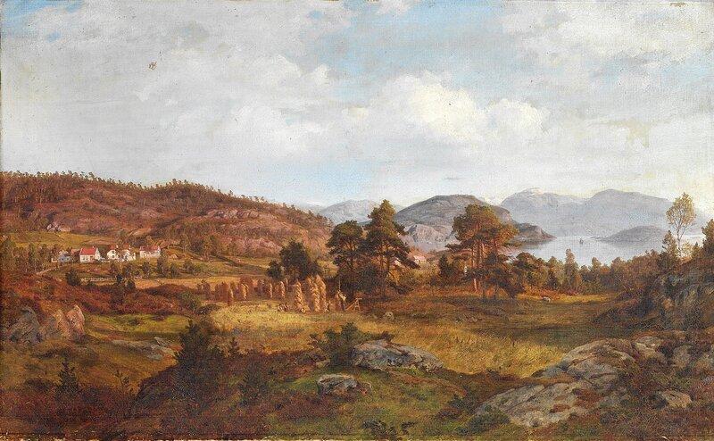 Fra Hammerhaug 1861