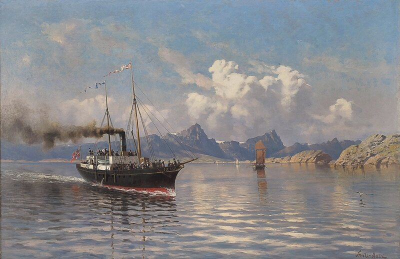 Dampbåten Helga