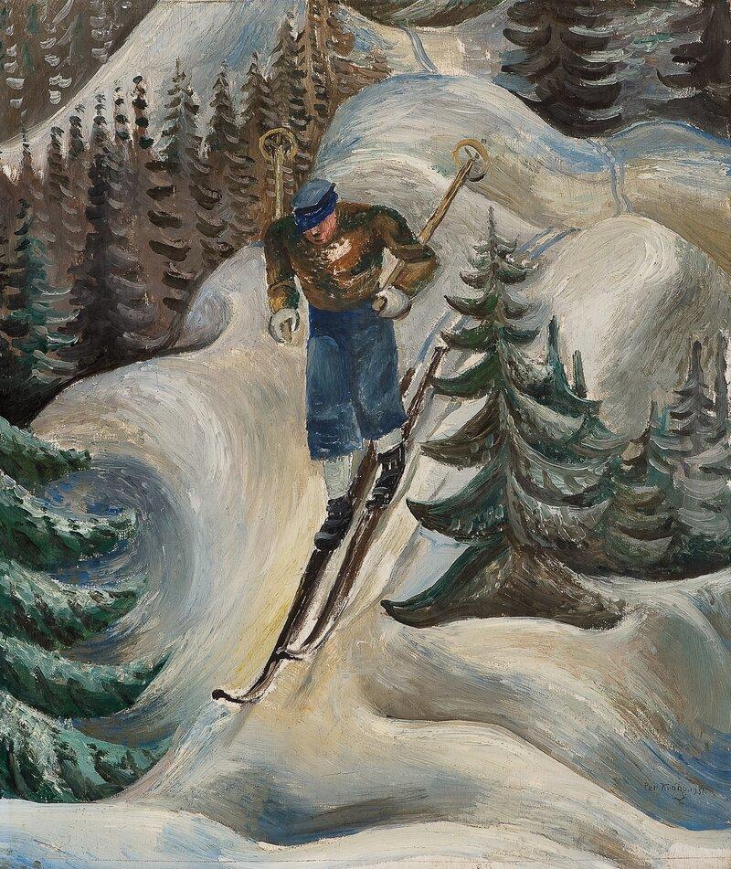 Skiløper 1931