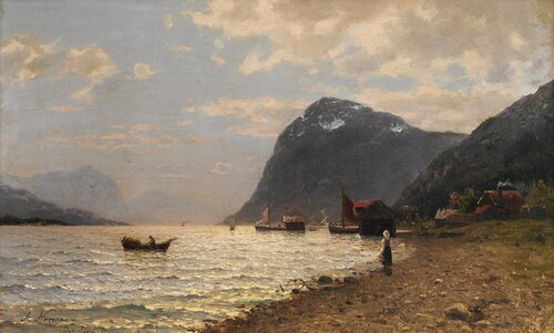 Norsk fjord 1879
