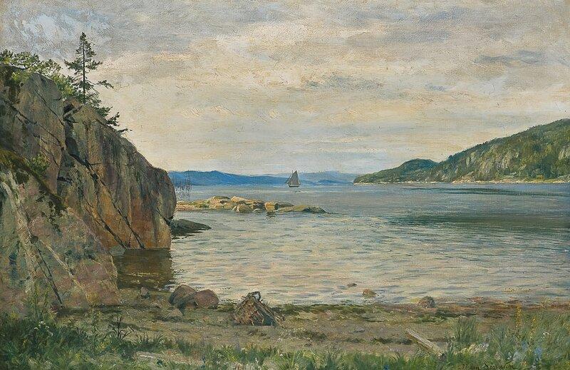 Stille sommerdag 1888