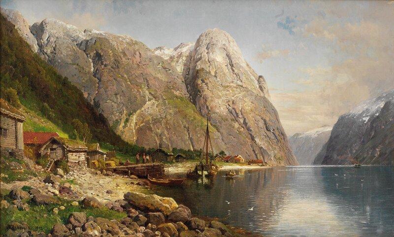 Fjordlandskap 1892