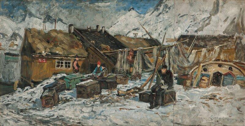 Fiskevær, Lofoten 1888