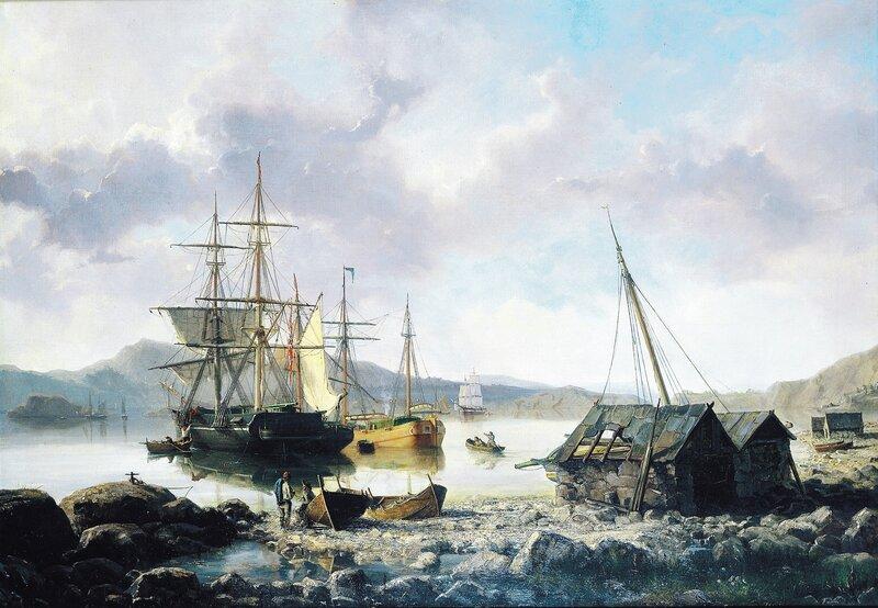 Ved en norsk havn