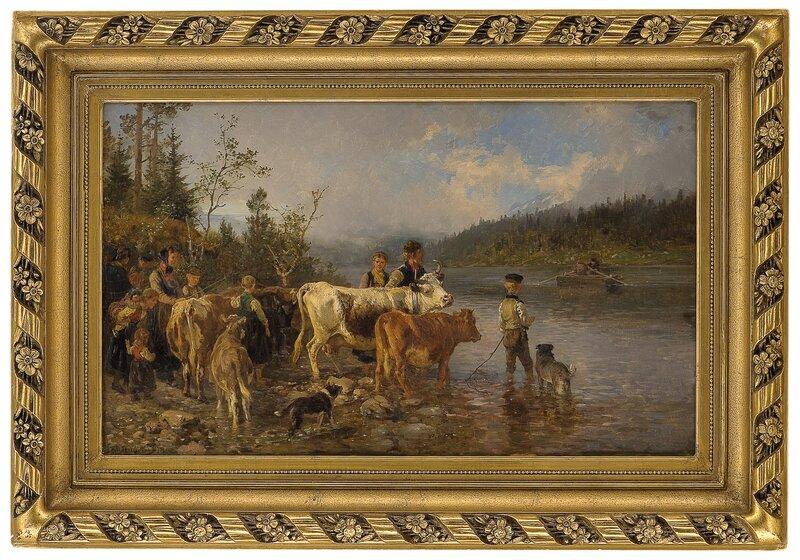 Ved overfartstedet 1878