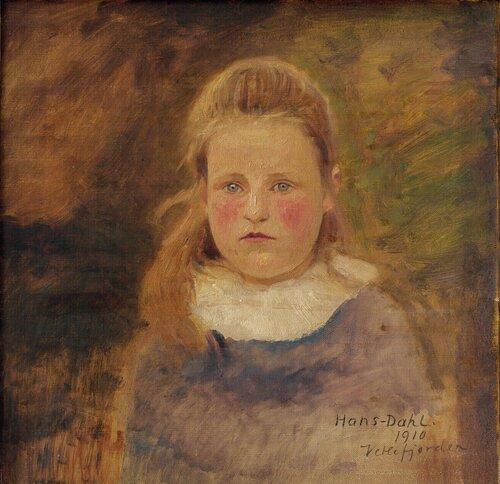 Lien pike, Vetlefjorden 1910