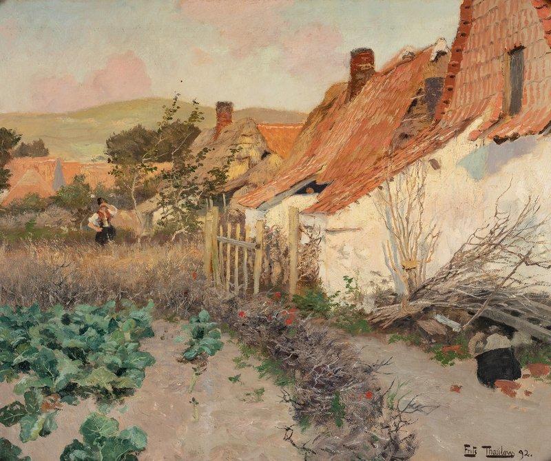 In the Backyard 1892