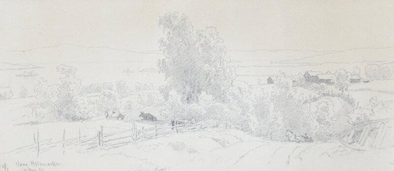 Fra Vang, Hedemarken 1853