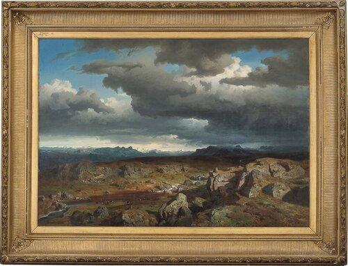 Norsk høyfjell 1856