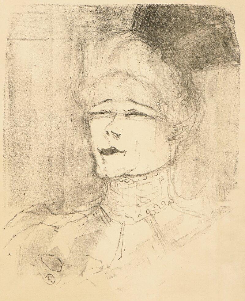 Portrett av en skuespillerinne