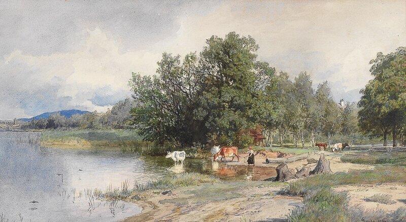 Sommerlandskap 1891