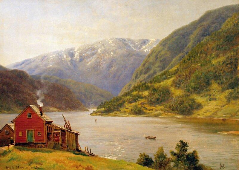 Fra Ulvik i Hardanger 1892